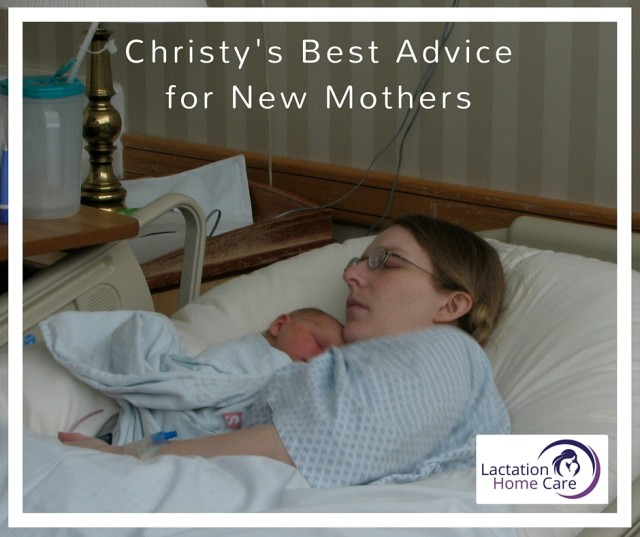 Christy's Best Breastfeeding Advice for New Mothers
